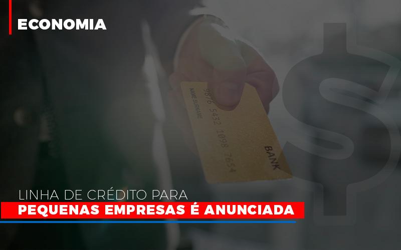 Linha De Credito Para Pequenas Para Pequenas Empresas E Anunciada - Contabilidade na Bahia - BA | Grupo Orcoma