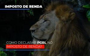 Ir2020:como Declarar Pgbl No Imposto De Renda - Contabilidade na Bahia - BA | Grupo Orcoma