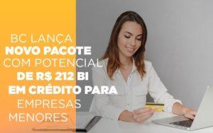 Bc Lanca Novo Pacote Com Potencial De R 212 Bi Em Credito Para Empresas Menores - Contabilidade na Bahia - BA | Grupo Orcoma