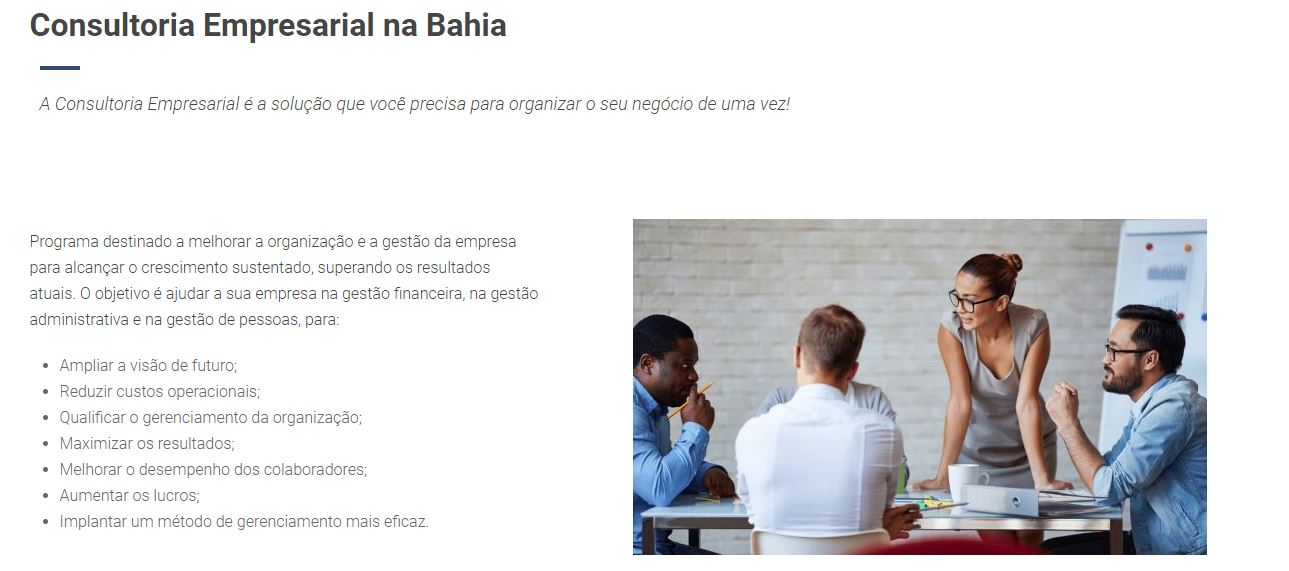 Consultoria Empresarial - Contabilidade na Bahia - BA | Grupo Orcoma