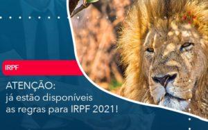 Já Estão Disponíveis As Regras Para Irpf 2021 - Abrir Empresa Simples